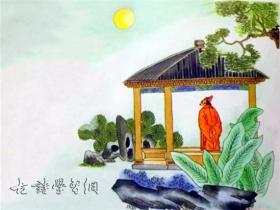 《十五夜望月》王建唐诗注释翻译赏析