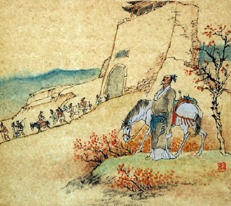 《山坡羊·潼关怀古》张养浩元曲注释翻译赏析 11 6