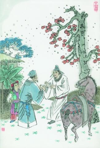 《送别》王维唐诗注释翻译赏析 33 5