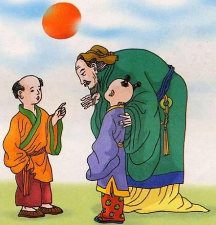《两小儿辩日》文言文原文注释翻译