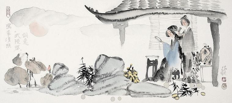 李清照的词风特色_《武陵春·春晚》李清照宋词注释翻译赏析   古诗学习网
