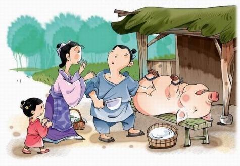 《曾子杀猪》文言文原文注释翻译 1 100