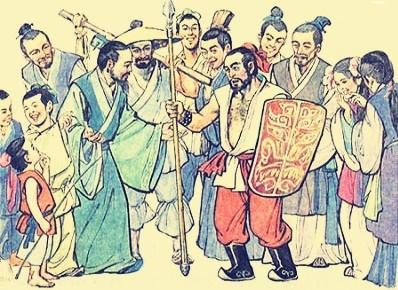 《矛与盾》文言文原文注释翻译