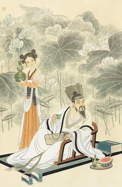 《爱莲说》周敦颐文言文原文注释翻译 1 126
