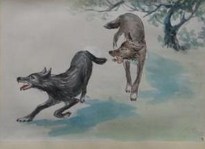 《狼》蒲松龄文言文原文注释翻译