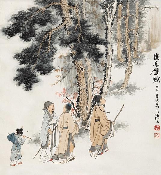 《后赤壁赋》苏轼文言文原文注释翻译