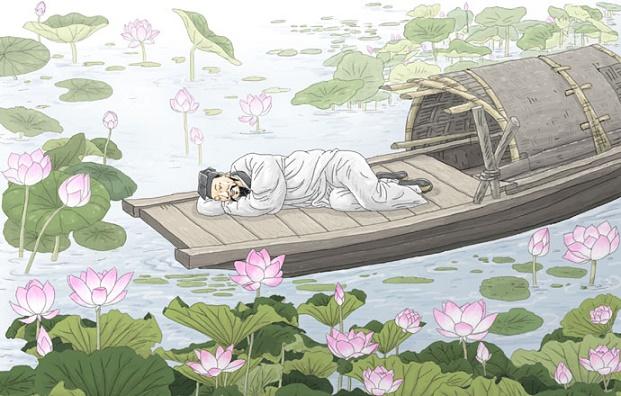 《西湖七月半》张岱文言文原文注释翻译