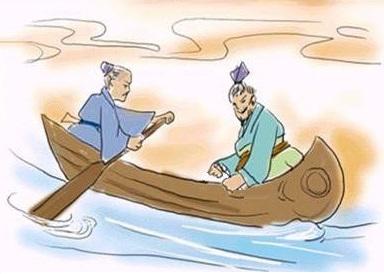 《贾人渡河》文言文原文注释翻译
