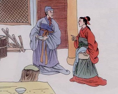 《齐人有一妻一妾》文言文原文注释翻译
