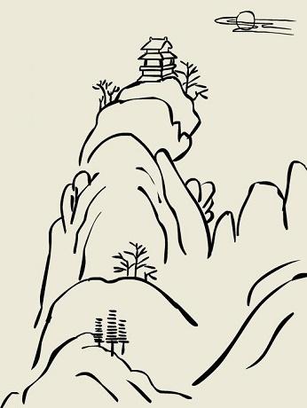 夜宿山寺的意思_危楼高百尺,手可摘星辰。全诗意思及赏析 | 古诗学习网