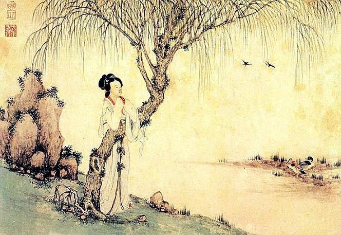 《鹊踏枝·六曲阑干偎碧树》冯延巳原文注释翻译赏析 10 3