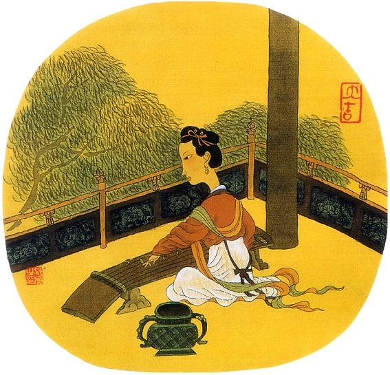 《鹊踏枝·六曲阑干偎碧树》冯延巳原文注释翻译赏析 12 2