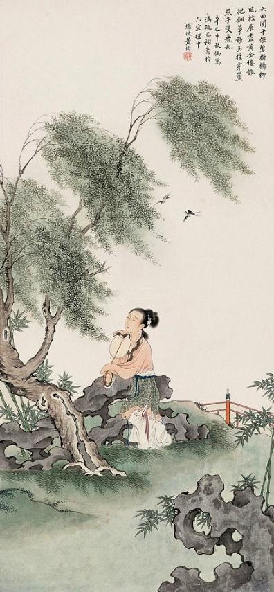 《鹊踏枝·六曲阑干偎碧树》冯延巳原文注释翻译赏析 9 3