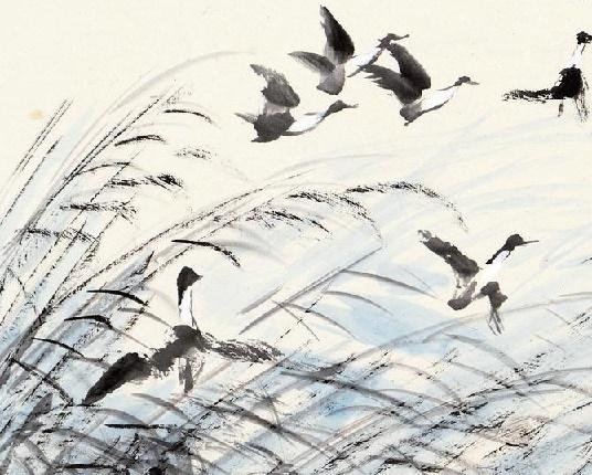 菰蒲睡鸭占陂塘,纵被行人惊散、又成双。全诗词意思及赏析