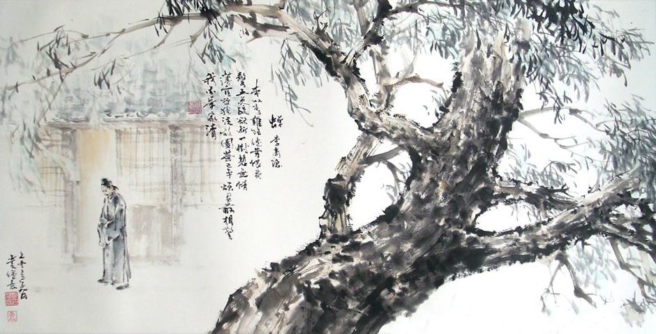 《咏蝉三绝》唐诗注释翻译赏析 2 2