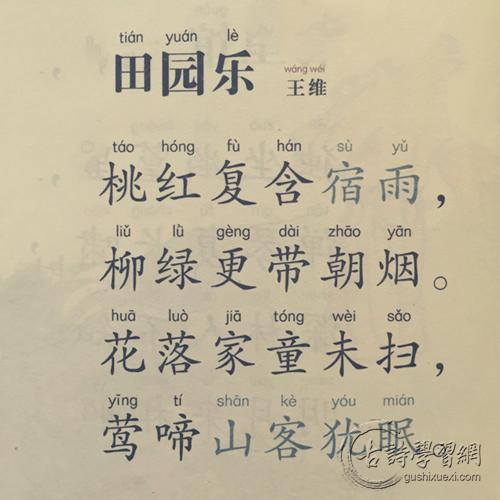 《田园乐》王维唐诗注释翻译赏析 4 1