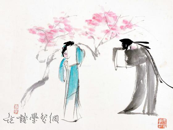 《皂罗袍·原来姹紫嫣红开遍》汤显祖原文注释翻译赏析 1 4